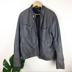 Armani Exchange   bomber style jacket